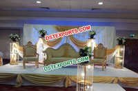 Asian Wedding Elegent Stage Furniture Set