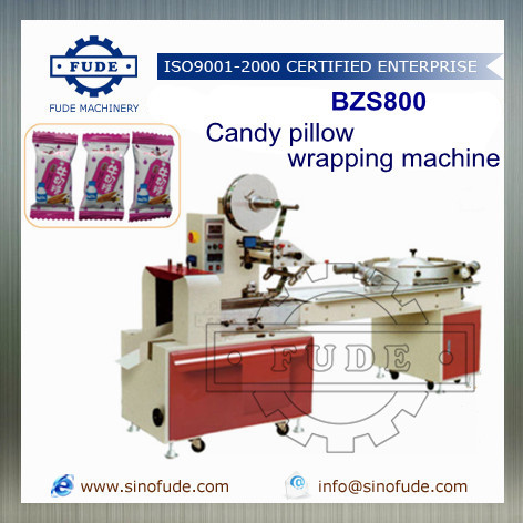 Candy pillow machine