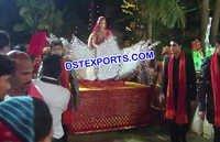 Indian Wedding Crystal Palki