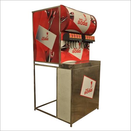 Mr.Soda Machine with Trolley