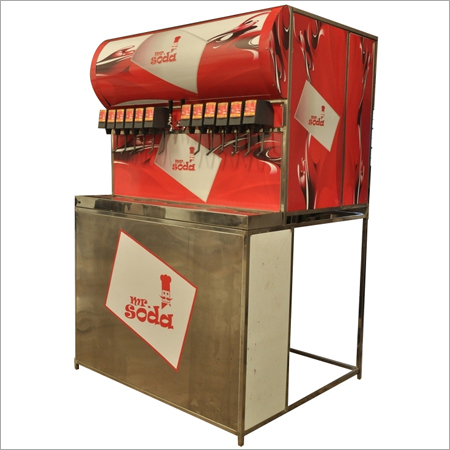 Mr.Soda Vending Machine with Trolley