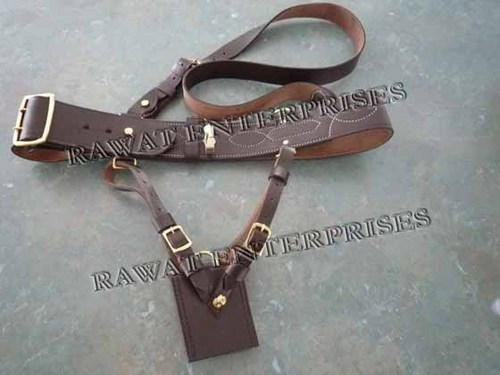 Sam Browne Belt For Sword
