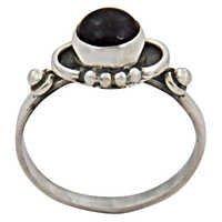 Traditional Amethyst Gemstone Silver Jewellery