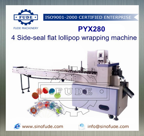 4 Side-Seal Flat lollipop wrapping machine