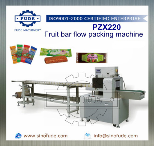 Fruit Bar Flow Packing Machine