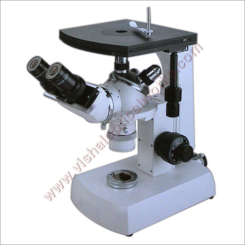 Inverted Metallurgical Laboratory Microscope