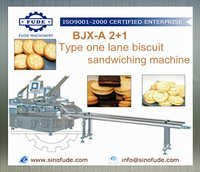One Lane Biscuit Sandwiching Machine