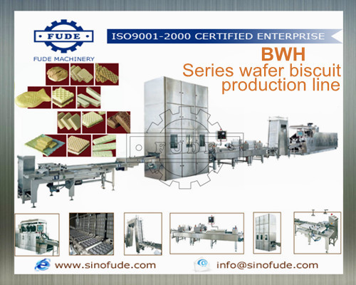 Wafer Stick Production Line Egg Roll Machine