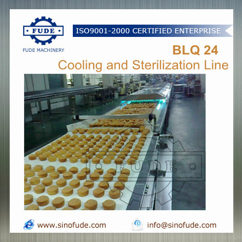 Cooling And Sterilization Line