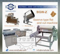 Swerve type flat and cut machine