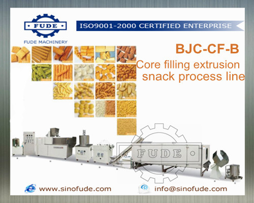 Core Filling Extrusion Snack Process Line