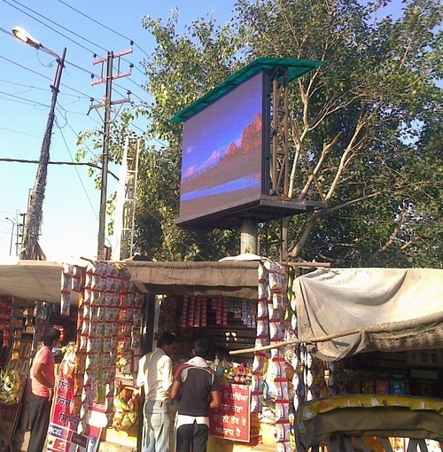 Our Led Display's Projects - Outdoor
