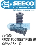 F. Footrest Rubber