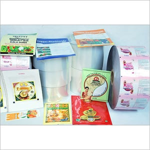 Food Packing Laminated Pouches