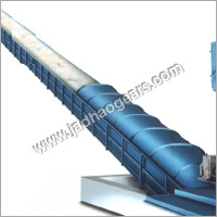 Cotton Lint Inclined Belt Conveyor For Press