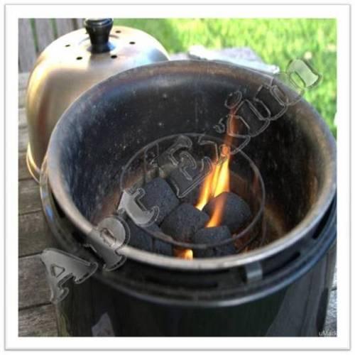 100% Natural Coconut Shell Charcoal Briquettes