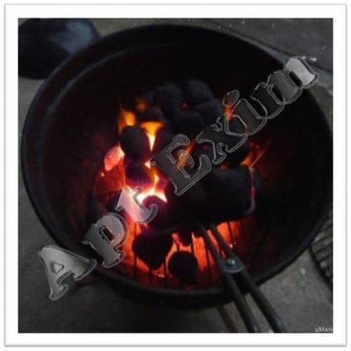 Odorless BBQ Briquette