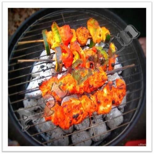 Tandoori Coconut Shell Charcoal Briquettes