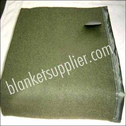 Military Green Blankets