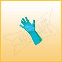 Super Nitrile Flocklined Gloves 'Rubberex' Make
