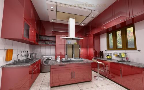 High Gloss Acrylic Kitchen Doors