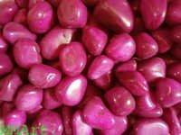 Rubi Red polished pebble