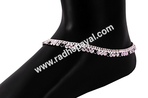 indian silver payal