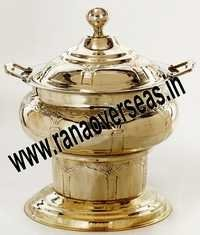 INDIAN BRASS CHAFING DISH