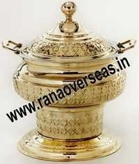 INDIAN BRASS METAL CATERING CHAFING DISH