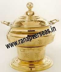 BRASS METAL CATERING CHAFING DISH