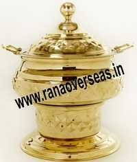 Round Engraved Chafing Dish