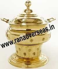 NEW STYLE BRASS CHAFING DISH