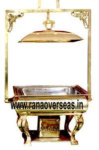Rectangle Chafing Dish with Lid Holder