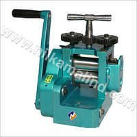 Manual Mini Rolling Mill