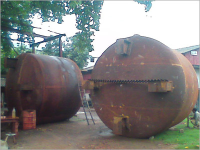 Acid Storage Tank Fabrication