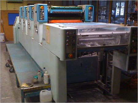 Used Offset Printing Machine Polly 466 Full Cpc