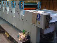 Used Polly 466 Ph Offset Four Colours Press