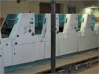 4 Colours Sheet Printing Offset Press Polly 466