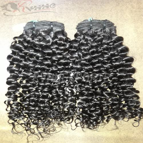 Machine Wefted Hair