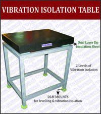 Shock Resistant / Anti-Vibration Table with Elastomeric Mounts