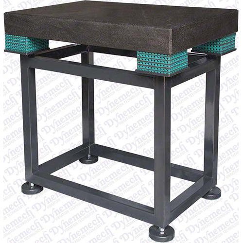 Shock Resistant / Anti-Vibration Table With Pneumatic Vibration Mounts