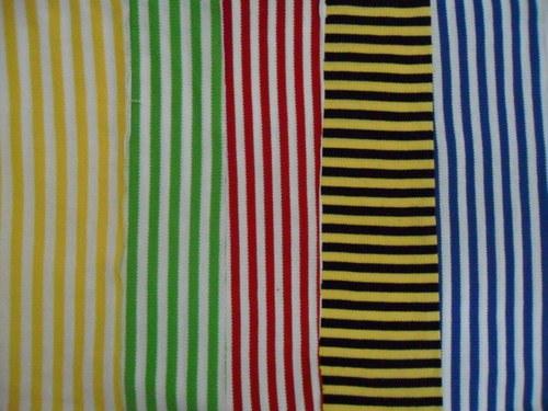 Feeder Stripe Knit Fabric