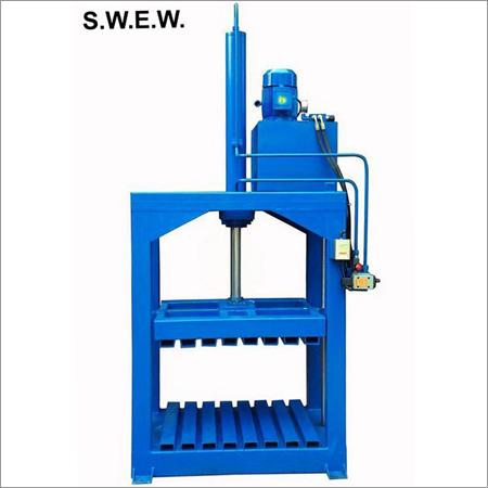 Hydraulic Bale Press Raffia Waste