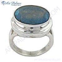Romantic Labradorite Silver Ring