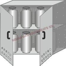 LPG Cylinder Cabinet
