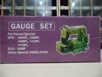 Sewing machine gauge set