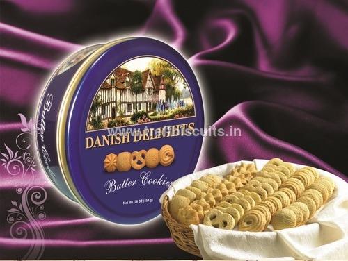 Danish Delights Butter Cookies