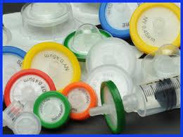 PVDF PTFE Syringe Nylon  filters