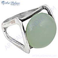 Royal aqwachalce 925 Sterling Silver Ring