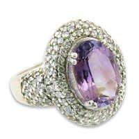 Impressive Designer Blue Topaz Gemstone Silver Ring